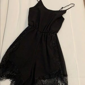 Dresses & Skirts - Sexy black romper size small